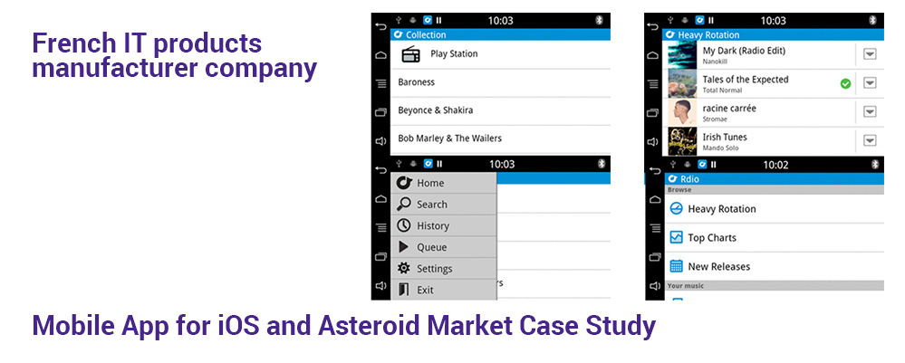 Mobile App for iOS and Asteroid Market Case Study
